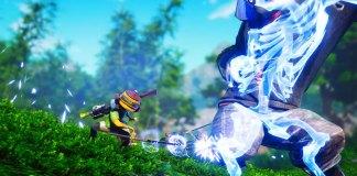 Biomutant combat screenshot