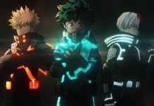 My Hero Academia WORLD HEROS MISSION suit visual