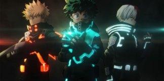 My Hero Academia WORLD HEROS MISSION suit visual