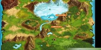 Este é o mapa oficial do mundo de Re:Zero