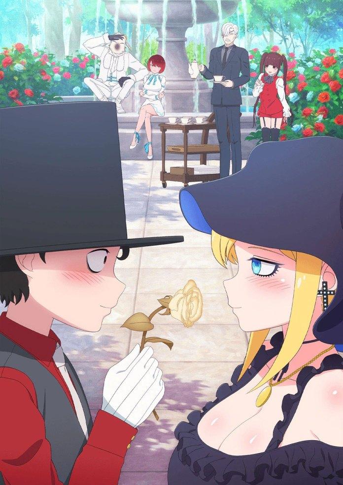 Imagem promocional do anime de Shinigami Bocchan to Kuro Maid