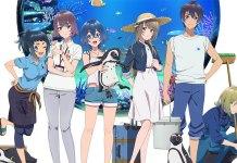 Série anime Shiroi Suna no Aquatope já tem data de estreia