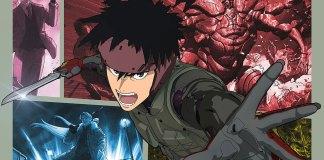 Imagem promocional da série anime de Spriggan