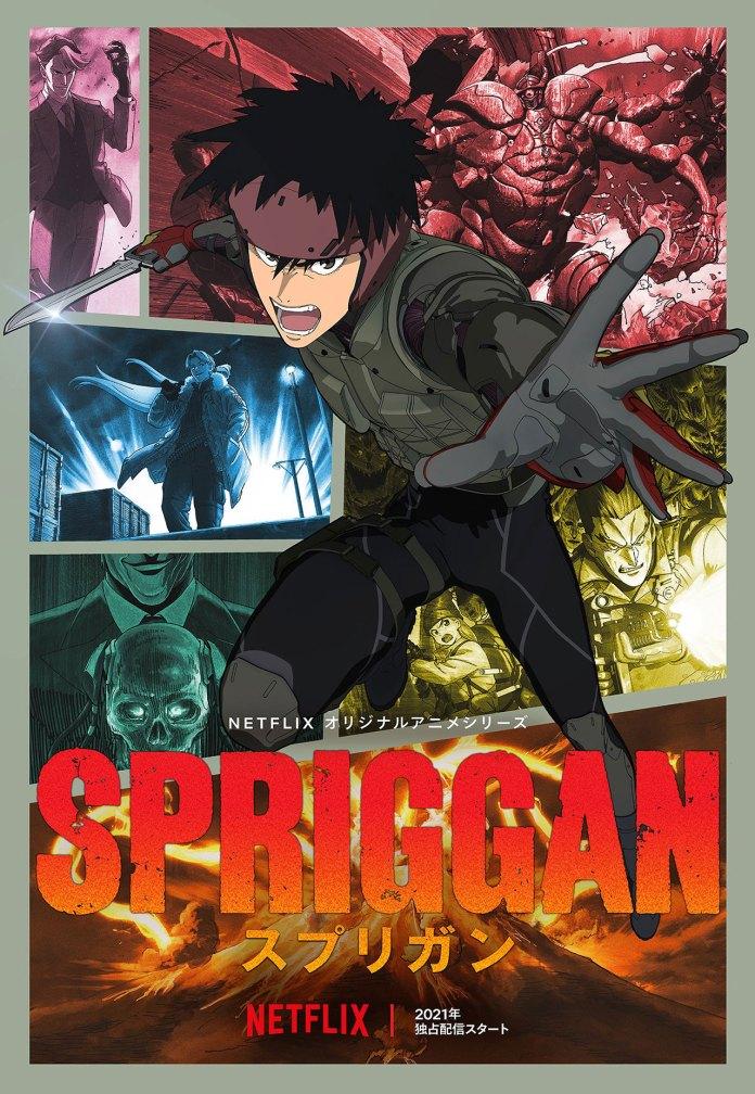 Spriggan anime visual