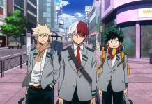 Trailer e imagem promocional do arco Endeavor's Hero Agency de My Hero Academia 5