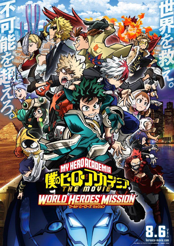My Hero Academia WORLD HEROS MISSION poster