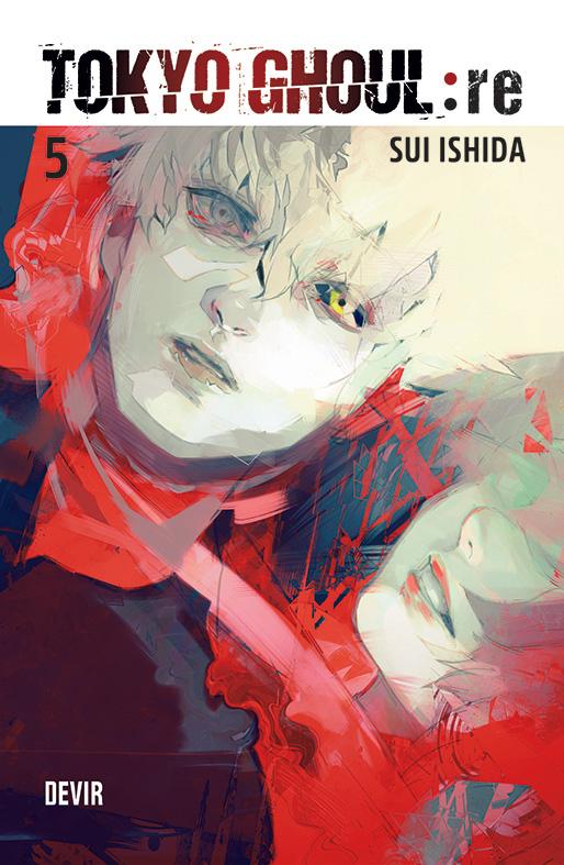 Tokyo Ghoul Re 5 pela Devir capa