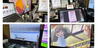 UPS! Famoso ilustrador japonês coloca foto a fazer download ilegalmente de anime