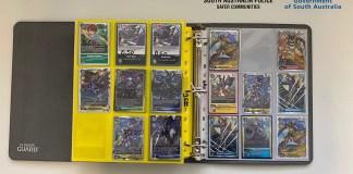 presos por regressar à loja onde roubaram cartas de Digimon