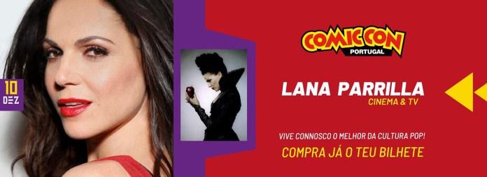 Comic Con Portugal 2021 Lana Parrilla