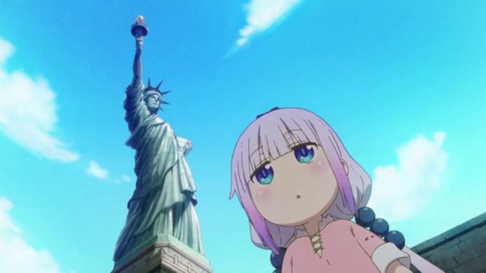 Miss Kobayashi's Dragon Maid S: Episódio 10 – Kanna no EUA (Um episódio familiar)
