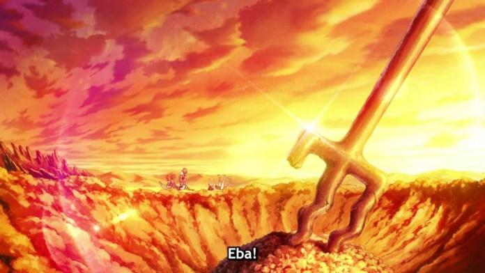Essa batalha teve tanta cena épica que esse frame captura bem isso.