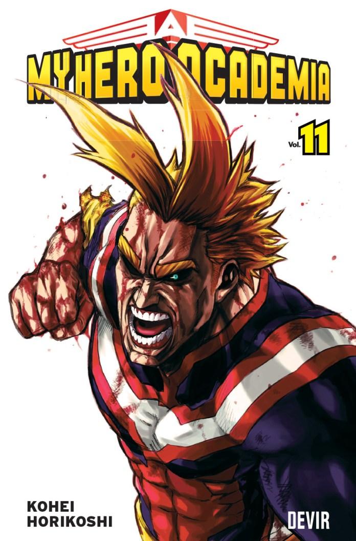 My Hero Academia Volume 11 pela Devir