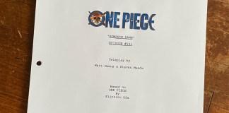Netflix mostra guião do episódio 1 da série live-action de One Piece