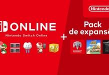 Conhece o Nintendo Switch Online + Pack de expansão