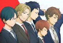 Ryman's Club, série anime original de Badminton estreia em janeiro 2022