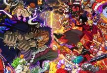 Imagem promocional completa do episódio 1000 de One Piece