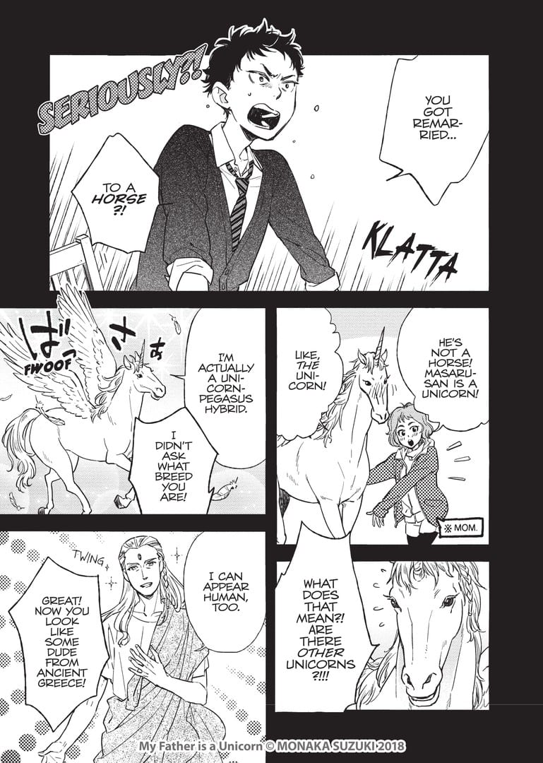 Is Your Father a Unicorn? Newly Released Manga Shows What it Would Be Like! 2