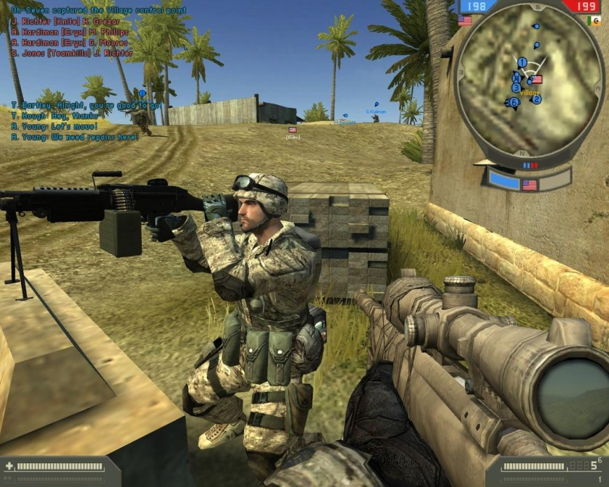 Battlefield 2 Screen 1