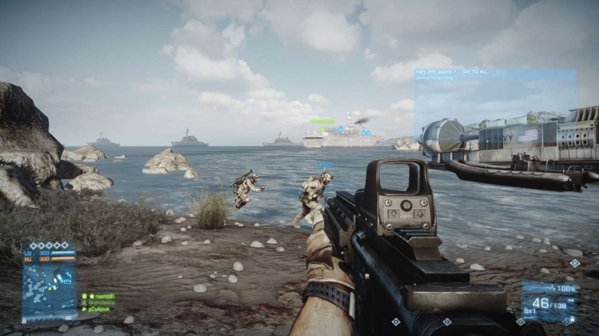 Battlefield 3 Review screen 4