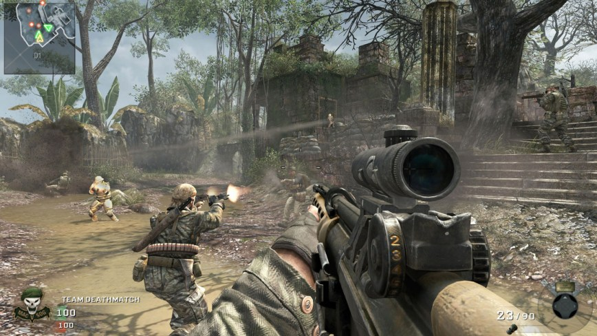 Call of Duty Black Ops Review Screen 4