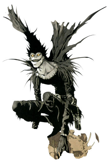 Countdown Appears of Death Note 10th Anniversary Site Ryuk