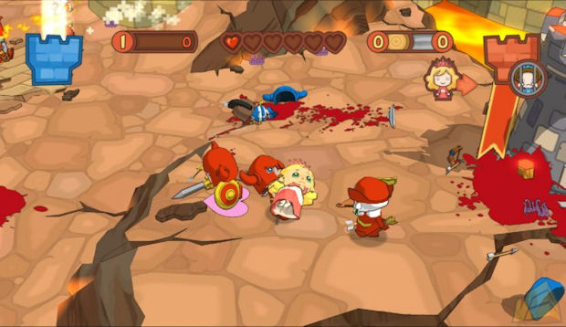 Fat Princess Fistful of Cake Review Screen 3