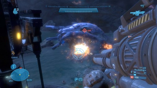Halo Reach Review Screen 1