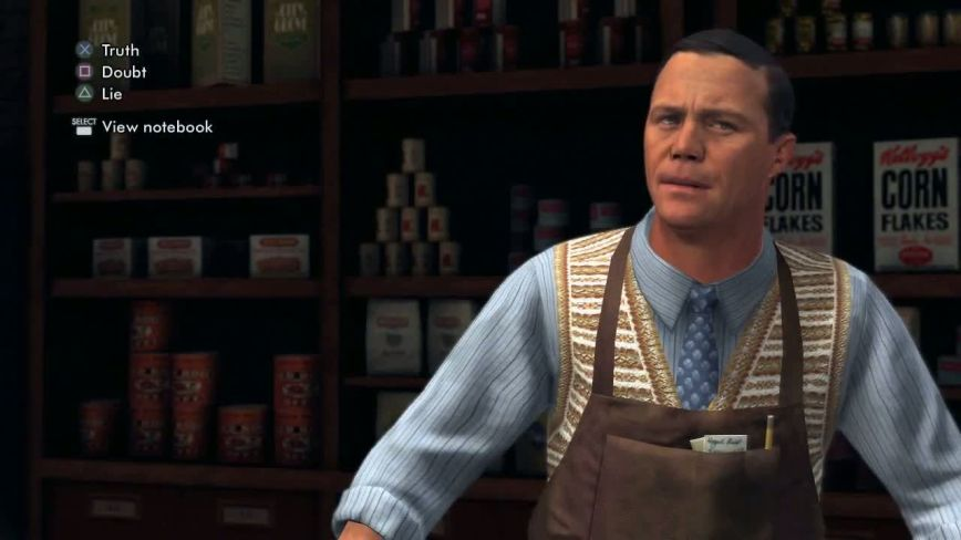 L.A. Noire Review Screen 2