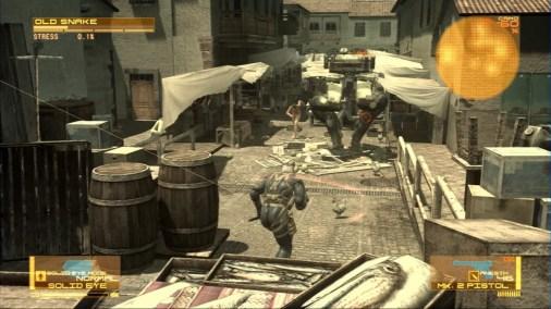 Metal Gear Solid 4 Guns Of the Patriots Screen 3