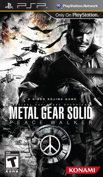 Metal Gear Solid Peace Walker Review -  PlayStation Portable Box Art