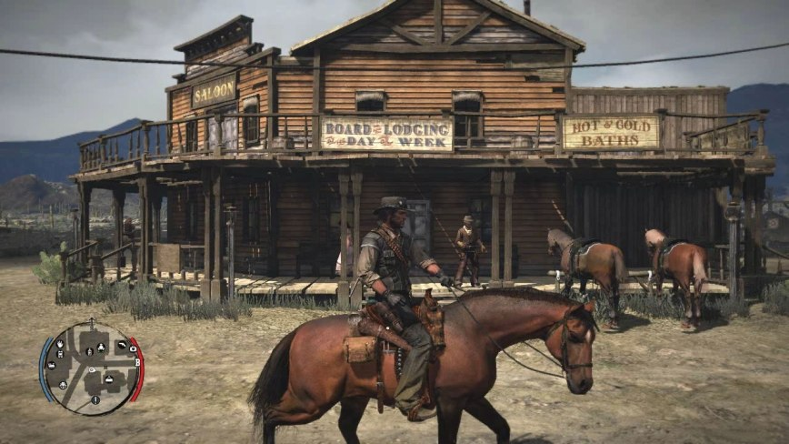 Red Dead Redemption Review Screen 1