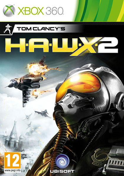 Tom Clancys H.A.W.X 2 Review - Xbox 360 Box Art