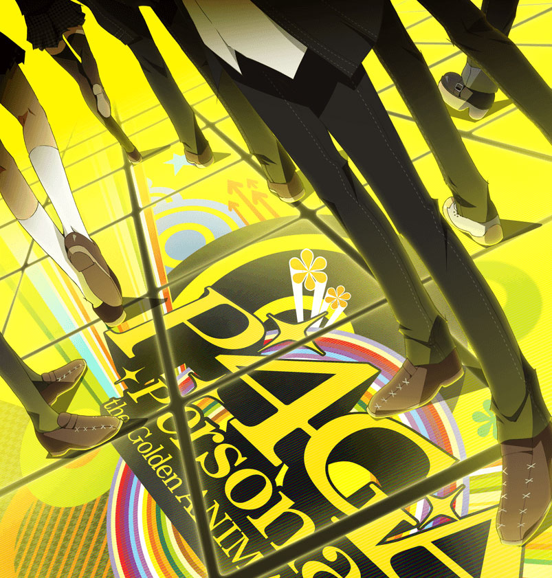 Persona 4 Golden Anime Announced For July Main visual