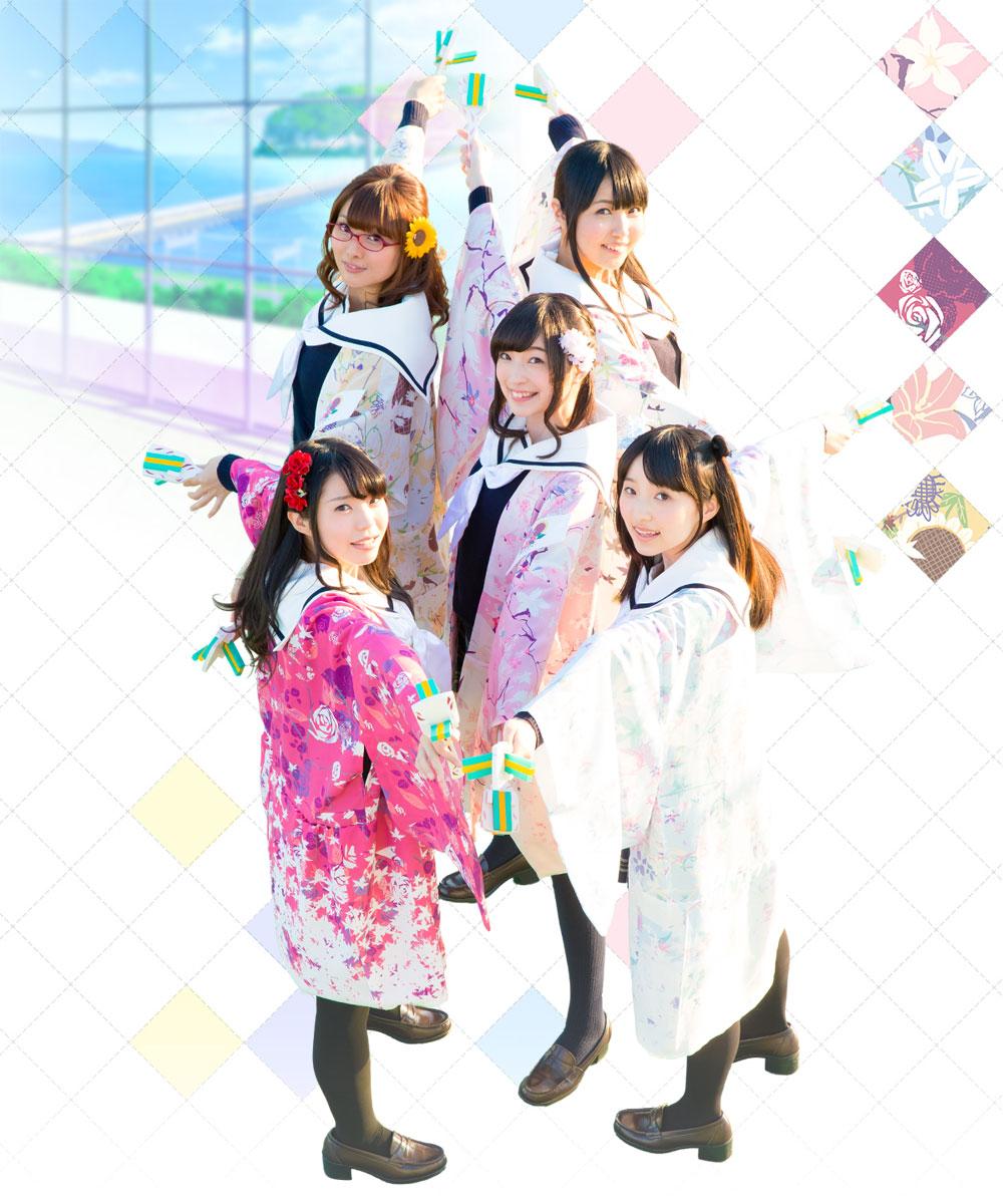 Hanayamata Voice Actresses Visual