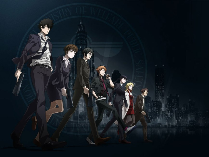 Psycho-Pass (Edited-rebroadcast) Visual