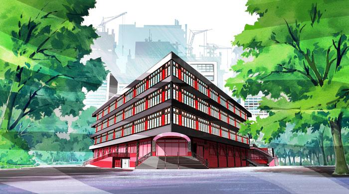 Yuri-Kuma-Arashi-Background