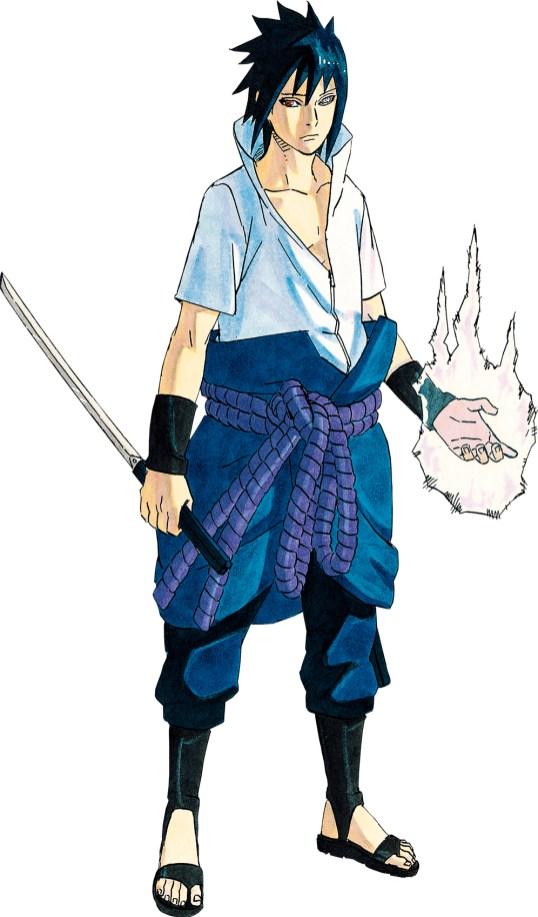 Kishimoto-Masashi-Naruto-Ten-Website-Sasuke
