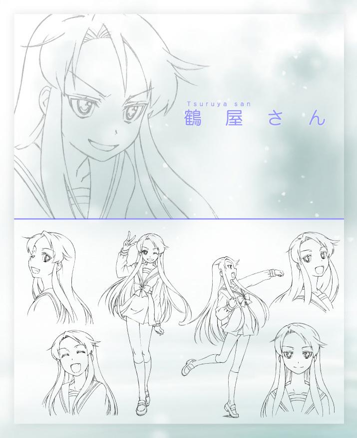 Disappearance-of-Nagato-Yuki-Chan-Anime-Character-Design-Tsuruya