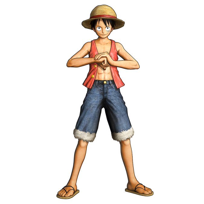 One-Piece-Pirate-Warriors-3-Character-Model-Luffy-2