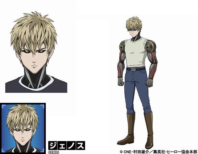 Bad Character Design Anime : One punch man anime character designs revealed otaku tale