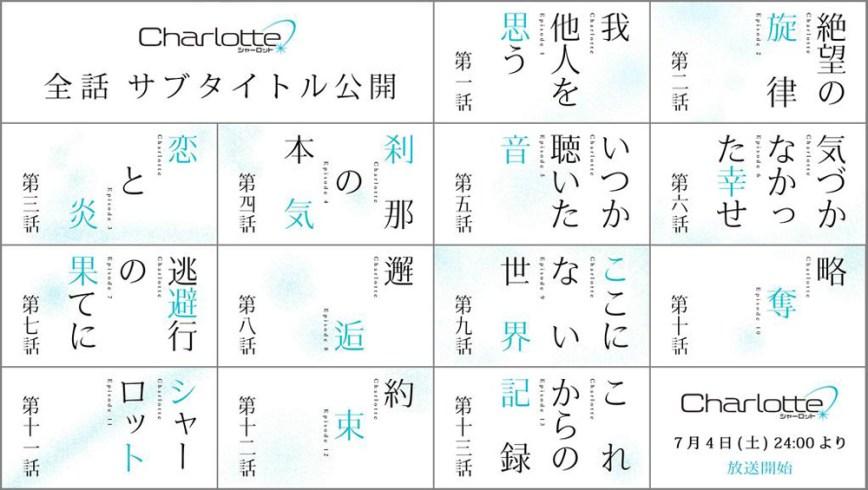 Charlotte-Anime-Episode-List