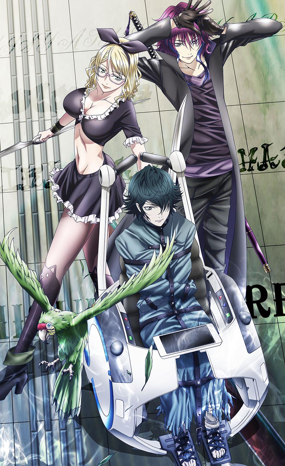 Daisuke namikawa sebagai yashiro isana. K: Return of Kings Visuals & Additional Cast Revealed ...