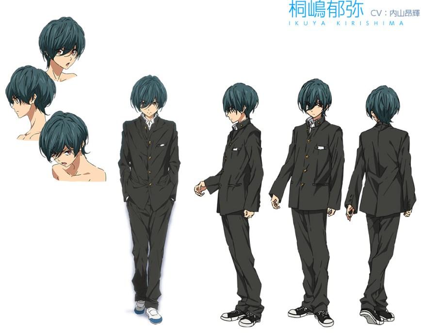 High☆Speed!--Free!-Starting-Days-Character-Designs-Ikuya-Kirishima