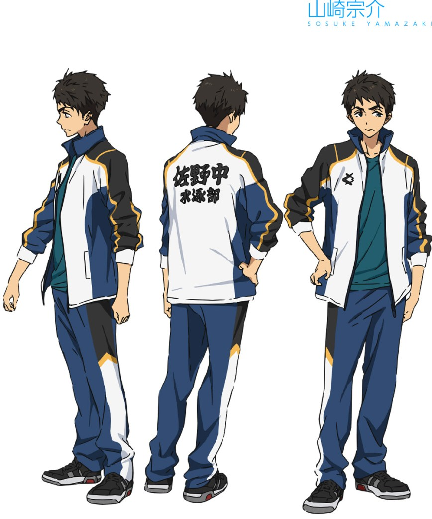 High☆Speed!--Free!-Starting-Days-Character-Designs-Sosuke-Yamazaki