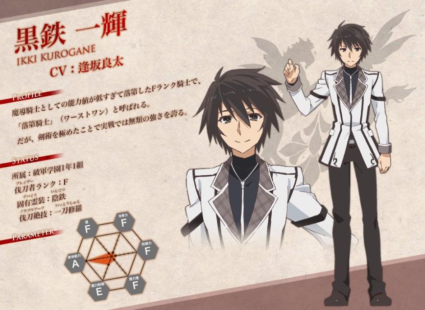 Rakudai-Kishi-no-Cavalry-Anime-Character-Designs-Ikki-Kurogane