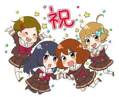 Hibike!-Euphonium-Anime-Season-2-&-Recap-Film-Nikki-Asada-Sketch