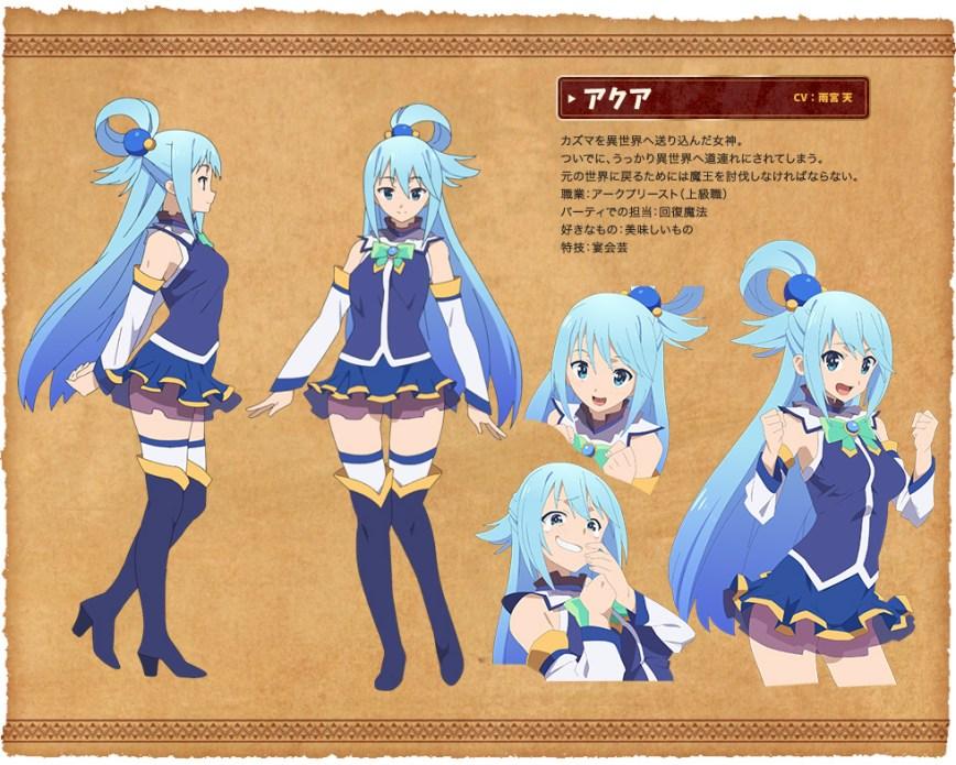 Kono-Subarashii-Sekai-ni-Shukufuku-wo!-Anime-Character-Designs-Aqua