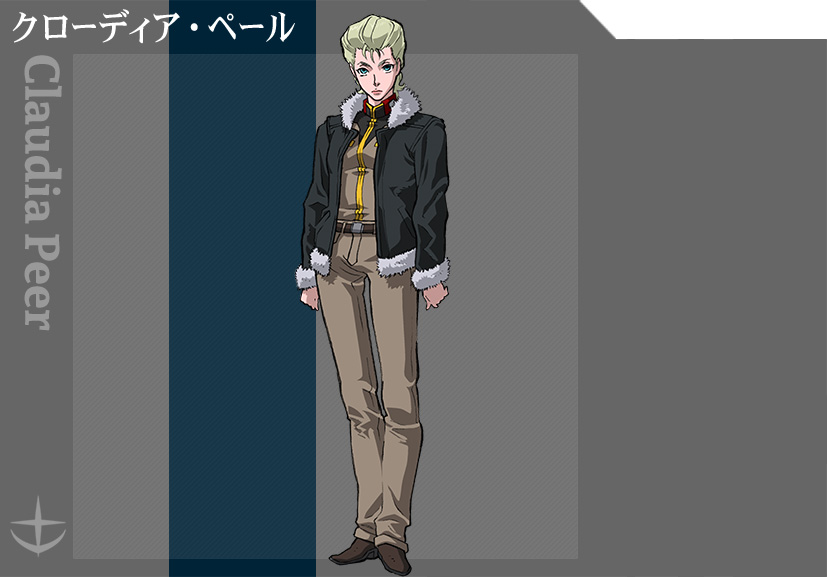 Mobile-Suit-Gundam-Thunderbolt-Anime-Character-Designs-Claudia-Peer