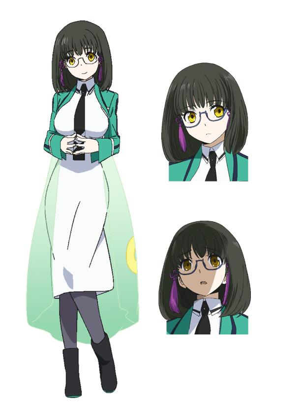 Mahouka-Koukou-no-Rettousei-Anime-Character-Designs-Mizuki-Shibata